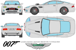 007Aston Martin Vanquish Armed by bagera3005