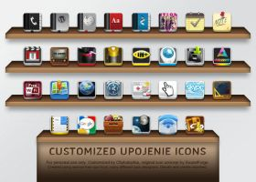 CUI Customized Upojenie Icons by chykalophia