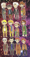 The Twelve Doctors by Zal001