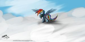 Rainbow speed paint 1 by autobotchari