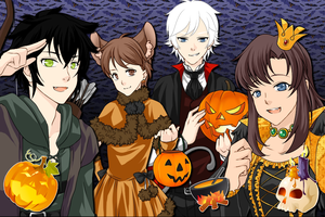 Happy Halloween from all of us! by CommanderSolar