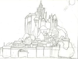 Old Art: Concept Art of a Town by afrazier63