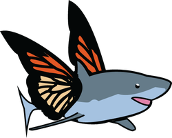 Monshark Butterfly by AwakeningDepth