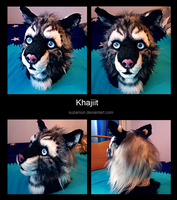Khajiit head mask by Suzamuri