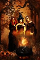 Witches by Miss-deviantE