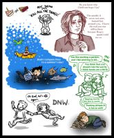 SPN S7 Sketchdump Oct '11 by blackbirdrose