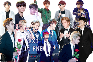 EXO PNG Pack {Various} by kamjong-kai