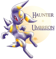 Umbreon X Haunter by Seoxys6