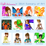 2014 Summary Of Art by Light-Leckrereins