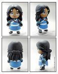 Katara custom munny by FlyingSciurus