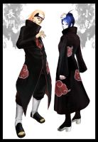 pein and konan by Kaizy