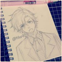 Jumin Sketch by Tiha90