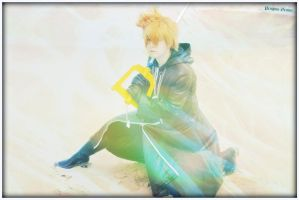 Roxas: I won't give up! by penguin-genius
