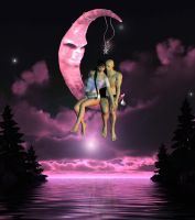 Love Me Under The Moon by VisualPoetress
