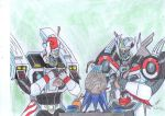 Drift and Wing artcraft time by ailgara