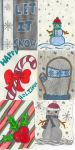 Holiday Card Project 2014 by shiblets