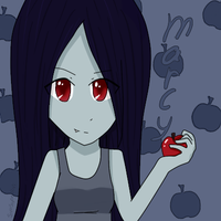 Adventure Time - Marceline by SimSuperFan