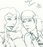 Marauders RP -Bellatrix and Narcissa by InTheAier