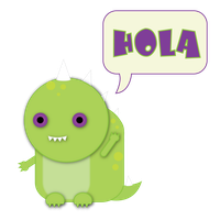 Hola Dino by Lucora
