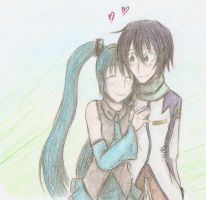 Kaito x Miku request by DylanIsntHere