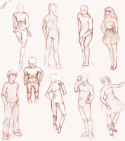 a little practise again - poses by m-angela