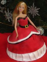 Xmas Barbie by Verusca
