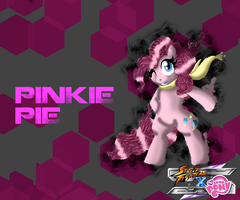 SFxMLP Pinkie Pie wallpaper v3 by CrossoverGamer