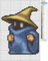 Black Mage by Makibird-Stitching