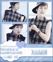 Xiumin (EXO) - PHOTOPACK#02 by JeffvinyTwilight