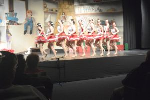 Dance Company Christmas Show,Santa's Tap Girls6 by Miss-Tbones
