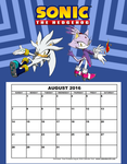 Sonic-August by xgirl109