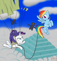 Rainbow Dash and the Temple of the Alicorn by phallen1