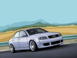 Audi A4 vexel by a4000