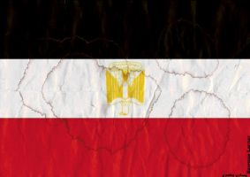 Egypt flag by gaber440