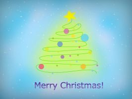 Merry Christmas card by the-wabbit