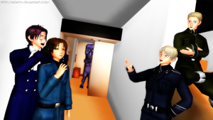 MMD_Don't say such things! by Noir74