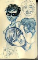sketchpage - faces by HUMPHREYSIR