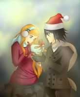 Merry Christmas :3 Ulquihime by Ginger1334