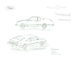 What if:1983 Ford Thunderbird Sportsroof? by stephdumas