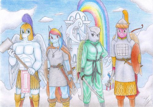 Super Squad of the middle ages (by Sinaherib) by The-Nuclear-Pegasus