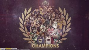 NBA Champions Wallpaper by Angelmaker666