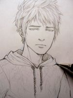 Rise of the Guardians - Jack Frost doodle by Lehanan