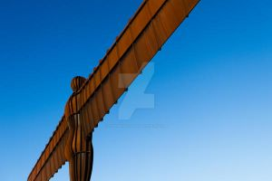 Angel of the North by CryogenicCactus
