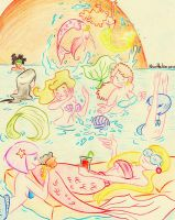 Mermaids Summer Party! by NicoHelen