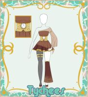 Outfit Adoptable! #2! (CLOSE!) by Tychees