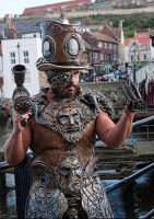 steampunk or CIRQUEPUNK by overlord-costume-art