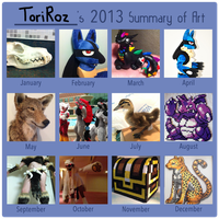 2013 Summary of Art by Toriroz