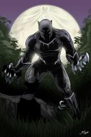 Blackpanther by glencanlas