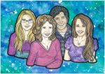 Bradley Family by BeckyDIllustrations