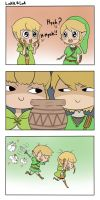 Linkle and Link by mastergray